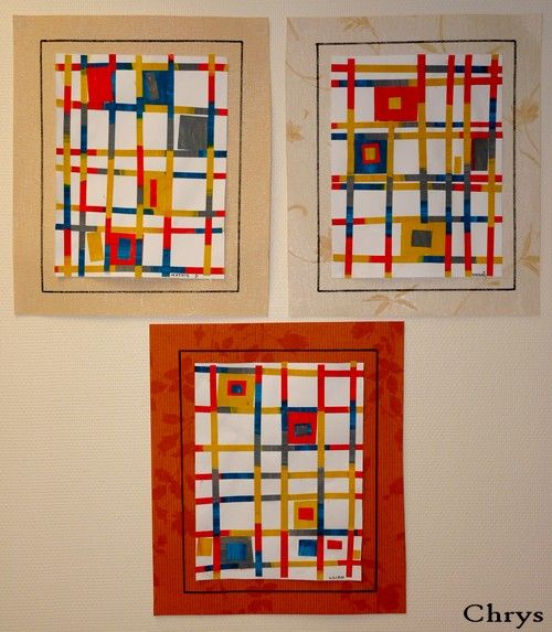 MONDRIAN : Le Journal de Chrys: Broadway Boogie-Woogie