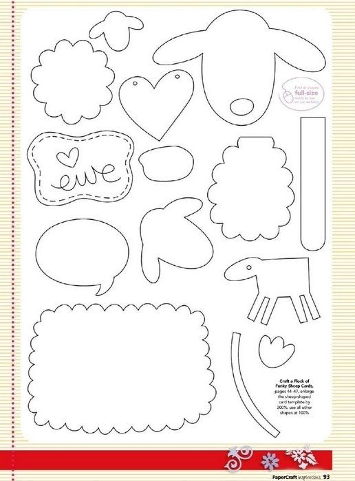 89 best images about schaap on pinterest coloring pages for Cardboard sheep template