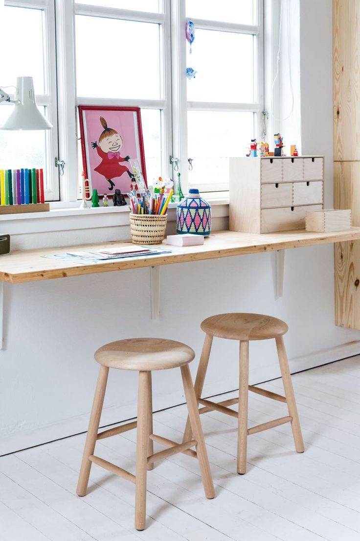 oppbevaring og skrivebord to barnerom