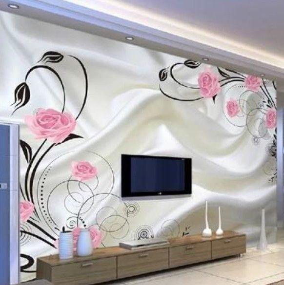 en yeni tv arkası duvar kağıdı örnekleri