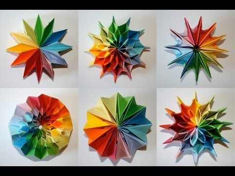 Origami - Feu d'artifice