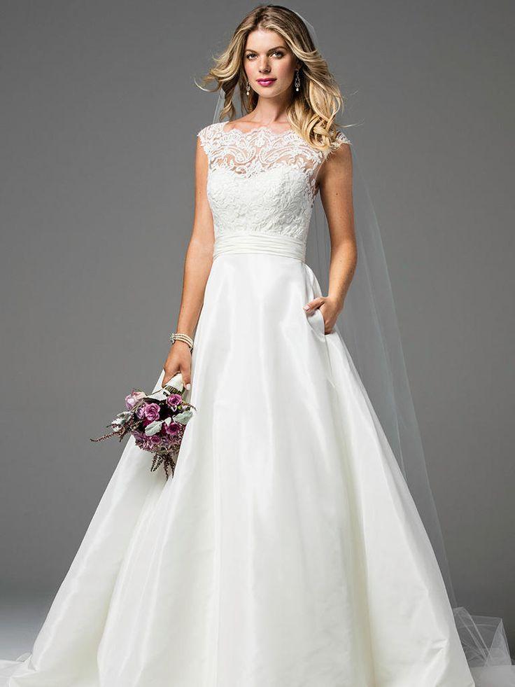 Wtoo by Watters Fall 2017: Flirty Wedding Gowns for True Romantics   TheKnot.com