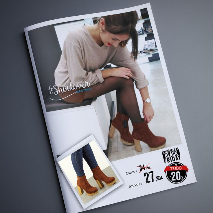Nuestra #Shoelover Inside my closet ya se ha hecho con los suyos 😊 TODO 20% DTO. ¡¡ANTICÍPATE AL BLACK FRIDAY CON MARYPAZ!!  Hazte con este BOTÍN DE ANTE aquí ►http://www.marypaz.com/botin-plataforma-tachuelas-0135616i702-75079.html  #SoyYoSoyMARYPAZ #Follow #winter #love #otoño #fashion #colour #tendencias #marypaz #locaporlamoda #BFF #igers #moda #zapatos #trendy #look #itgirl #invierno #AW16 #igersoftheday #girl #autumn   **Promoción válida del 18 al 24 de noviembre de 2016. http://i