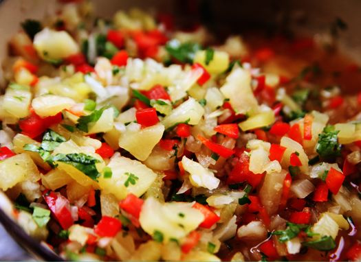 Pineapple Salsa | Veggies, Sides & Appetizers | Pinterest