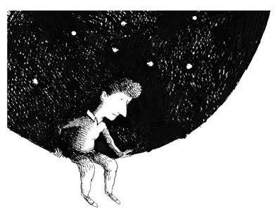 L BAMBINO CHE SI ARRAMPICO' FINO ALLA LUNA di David Almond illustrato da Federico Appel – Salani Editore. Un libro dall'insolita carica emotiva, attraversato dalla forza della poesia che permette di affrontare temi difficili come la diversità, la libertà, il valore dell'amicizia, il potere delle idee e il coraggio di sostenerle con forza. (continua a leggere su www.gallinevolanti.com/2014/07/il-bambino-che-si-arrampico-fino-alla-luna/)