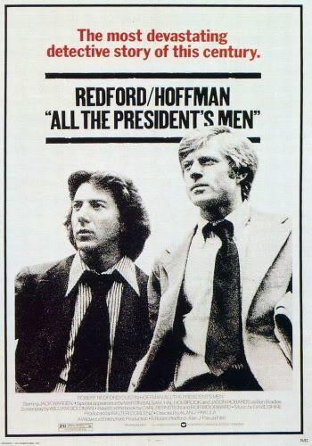 Director: Alan J. Pakula | Reparto: Robert Redford, Dustin Hoffman, Jason Robards | Género: Intriga | Sinopsis: En 1972, dos jóvenes periodistas del diario The Washington Post, Bob Woodward (Robert Redford) y Carl Bernstein (Dustin Hoffman), comienzan a investigar lo que parece ser un simple allanamiento del ...