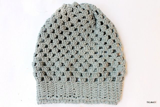 Tutorial: come realizzare un facile cappello all'uncinetto : islaura hat crochet pattern