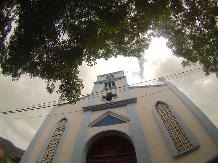 Parroquia de la vereda La Magdalena, zona rural media de Buga.