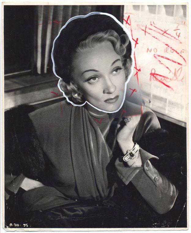 Martin Parr | Painted Photographs Marlene Dietrich