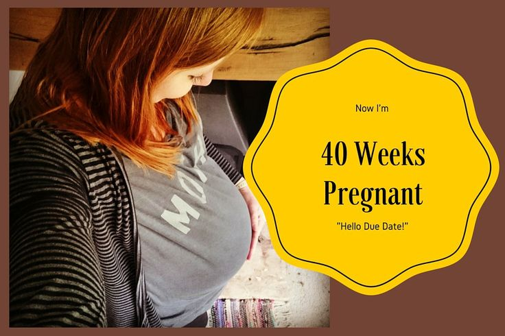 40 Weeks Pregnant, Hello Due Date! // It's my due date but I'm not trying too many of the old wives tales to get this baby out! Did any of them work for you?