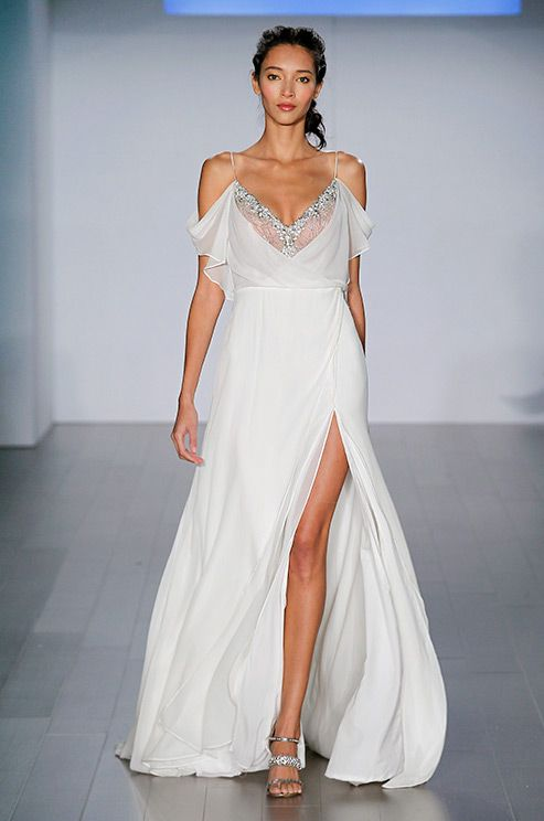 249 best images about beach weddings on pinterest colin for Wedding dress for beach ceremony
