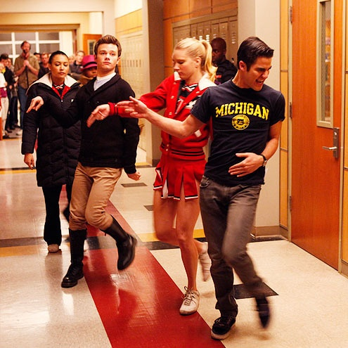 GLEE. Darren Criss. Chris Colfer. Heather Morris. So much awesome