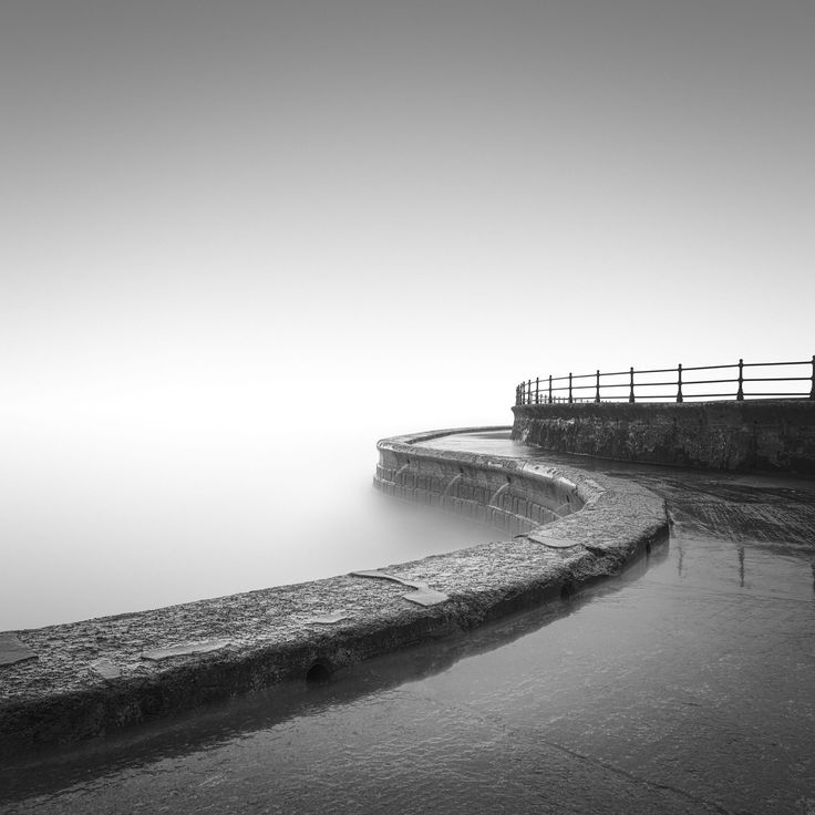 My take on often photographed Scarborough South bay wall. Thank you all for looking.
