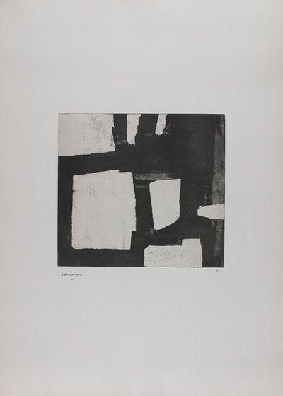 Eduardo Chillida: Bat Zazpi 1970