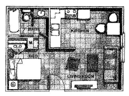 Studio Apartment Floor Plan Ideas: 287 Best Small Space Floor Plans Images On Pinterest