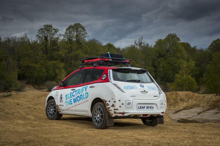 Nissan Leaf AT-EV : au rallye de Mongolie - le blog auto