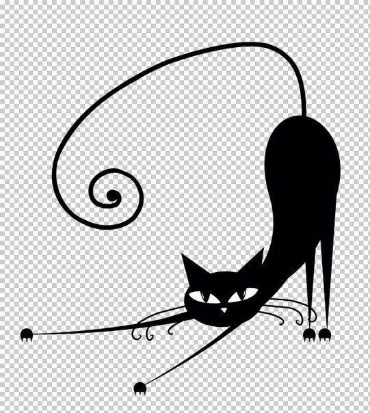 Plantillas de gatos para decoración