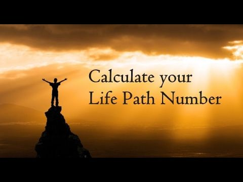 Easy to learn Numerology for calculation of your life path Number