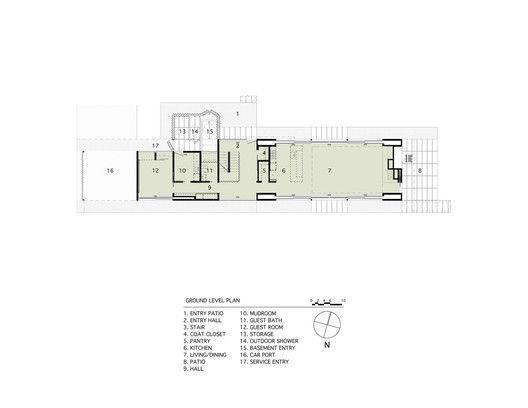 Pryor Residence,Plan