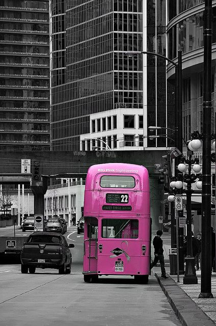 gordeau | Pink Bus