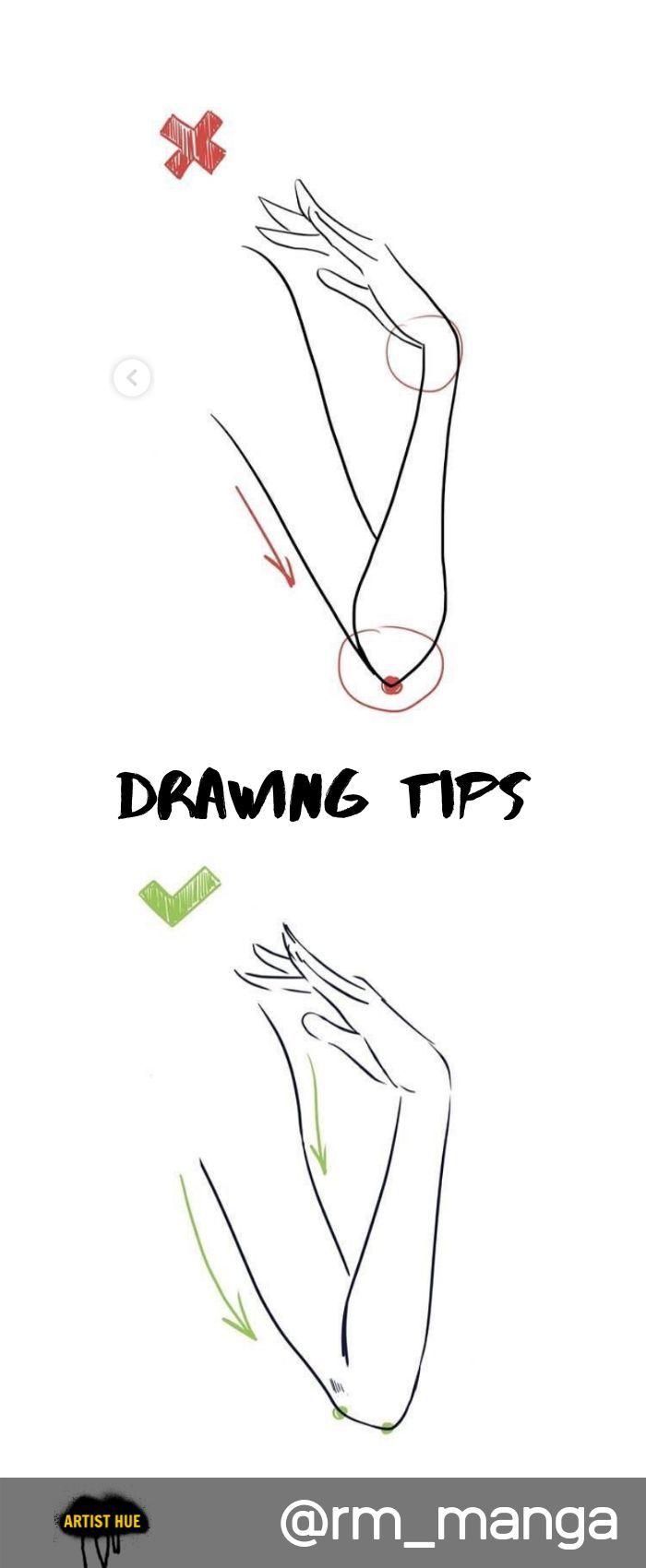 Tipps zum Zeichnen für Hände: – Drawing – #Drawi…