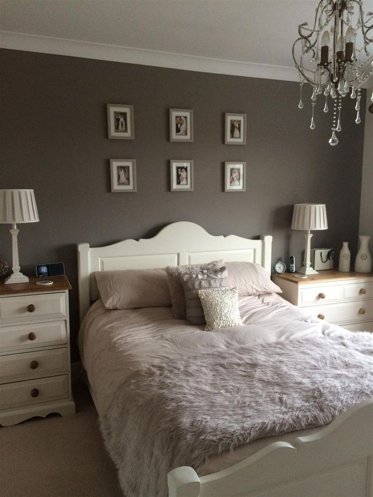 Charleston Gray in a bedroom