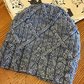 Pattern Number Five from the Knit Pickin' Hats Collection.