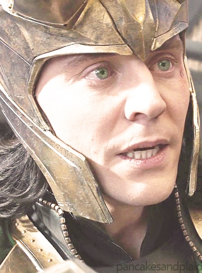 That soul destroying moment when you realize that Loki's eyes, which are naturally green, are the same blue as Hawkeye's throughout Avengers, except for that moment when Thor tries to reason with him. And for just a moment, he looks like Thor's brother again