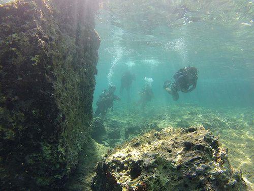 Diving around Sykia