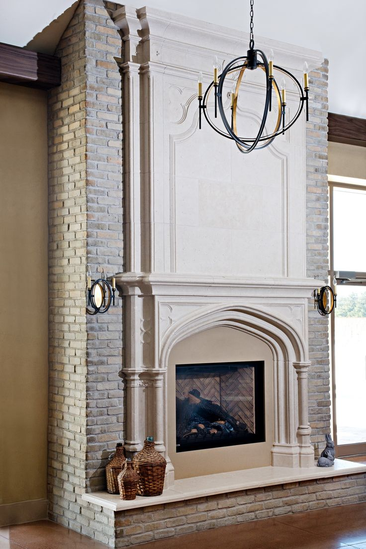 104 Best Images About Stone Fireplaces On Pinterest