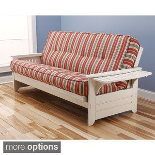 Ali Phonics Multi Flex Futon Frame In Antique White Wood With Innerspring Mattress And Drawers Ikeafutoncoffeetables