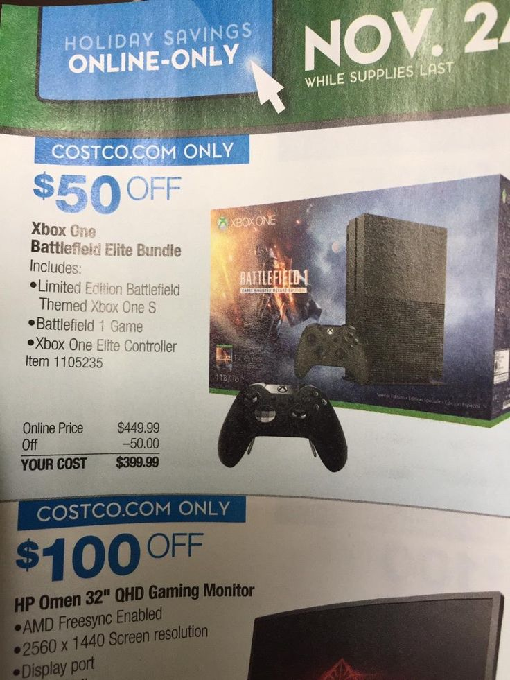 Xbox One S 1 TB Battlefield 1 Deluxe edition  Elite Controller (Bundle) $400 at Costco #LavaHot http://www.lavahotdeals.com/us/cheap/xbox-1-tb-battlefield-1-deluxe-edition-elite/134821