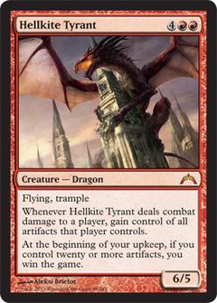 Hellkite Tyrant ($1.4) Price History from major stores - Gatecrash - MTGPrice.com Values for Ebay, Amazon and hobby stores!
