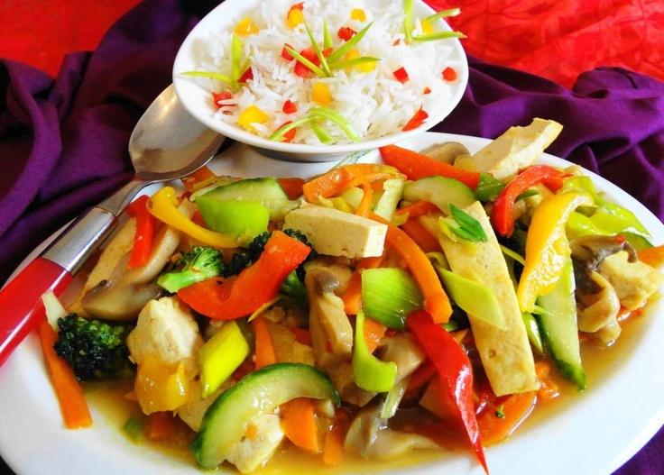Chop Soy Vegetarian (gezond, slank en lekker vegetarisch gerecht)