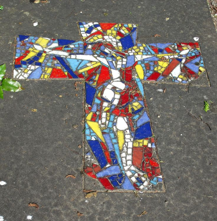 A cross at a cemetary in Tilburg