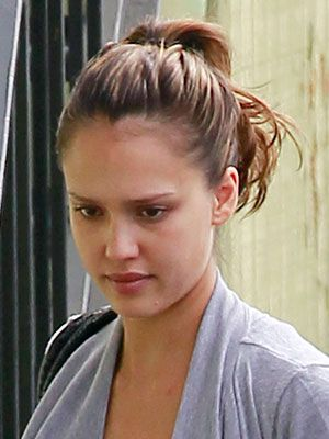 Jessica Alba Latina Celebrities & Stars with No Makeup On