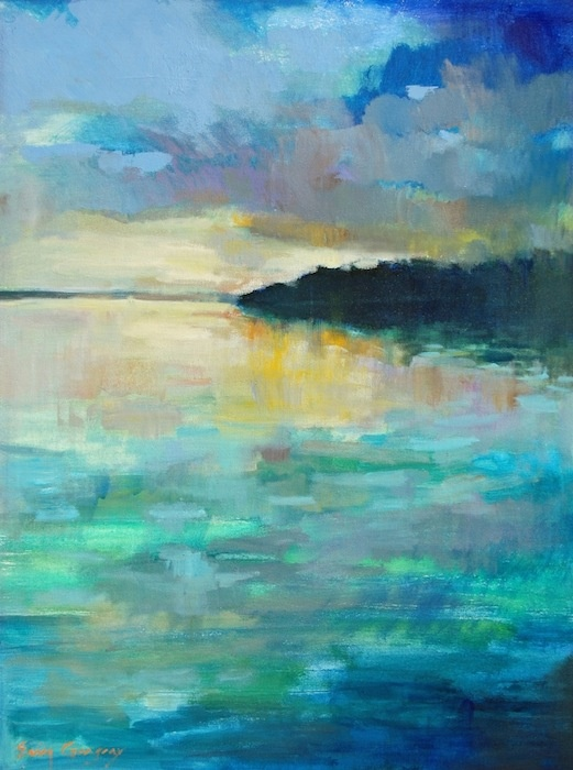 """Last Light"" by Erin Gregory, 30"" by 40"" on gallery wrap, $1100 