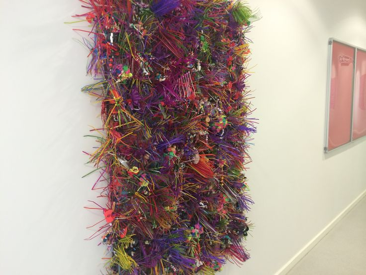 A KS3 project resulting in a 6ft beautiful installation using cable ties.