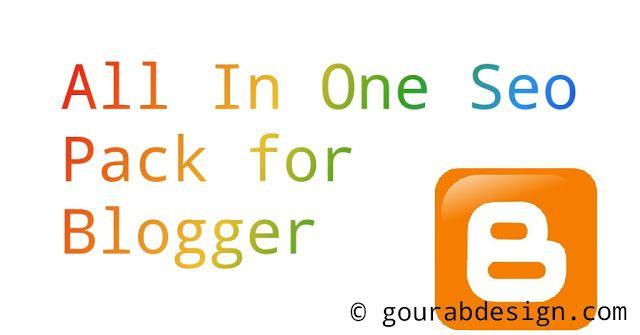 All In One Yoast Seo Pack For Blogger Yoast Seo Yoast Seo