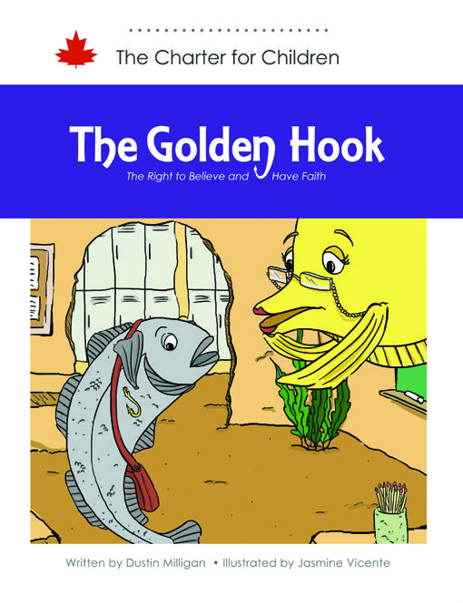 Aatma the cod is banished from his school for wearing a golden hook. This accessory holds significant symbolic value to followers of Newfinism, Aatma's religion. For the other fish in the harbour, hooks are a symbol of danger. Should Aatma be able to wear his hook to school?