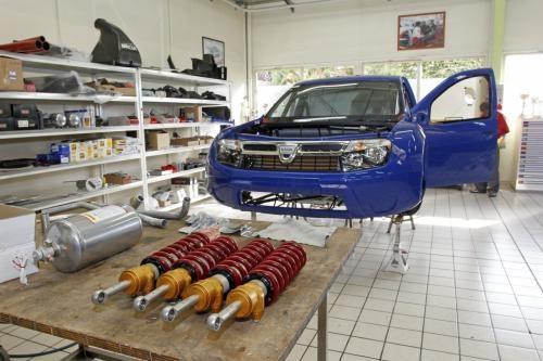 Dacia Duster NoLimit Rally car for Pikes Peak climb