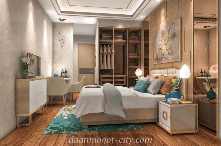 Interior design apartemen tipe Studio Damoci.