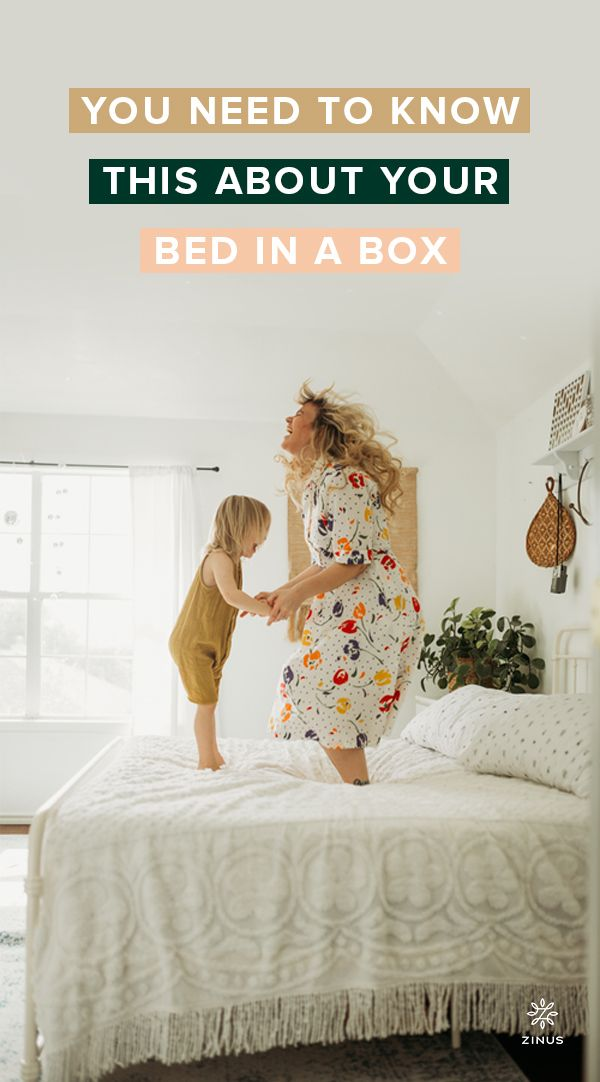 5 Tips To Help Your Mattress Decompress Zinus Box Bed Make A Person