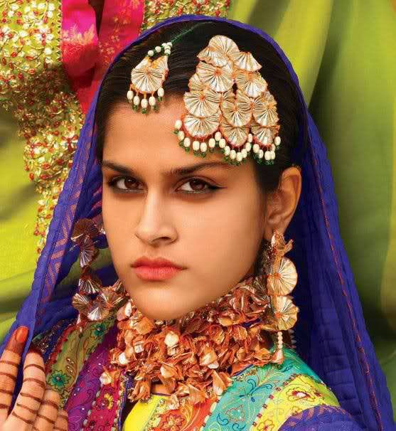 Aaina - Bridal Beauty and Style: Designer Bride: Gota Jewellery - Traditional Artisanry for Modern Times by Ather and Sabeen