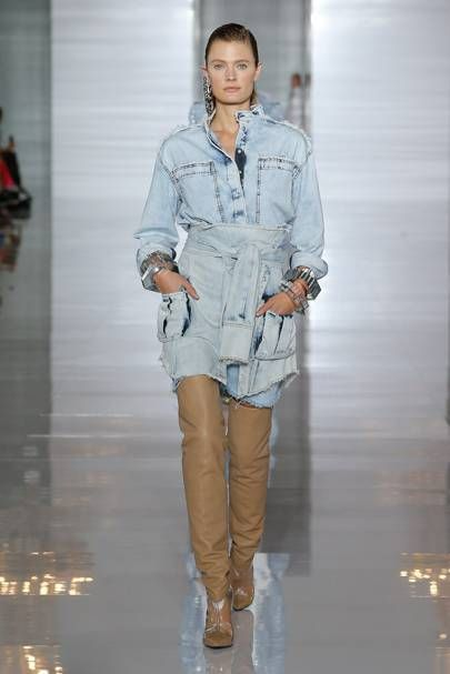 c3337bea93079 Balmain Spring/Summer 2019 Ready-To-Wear | Denim | Fashion, Denim ...