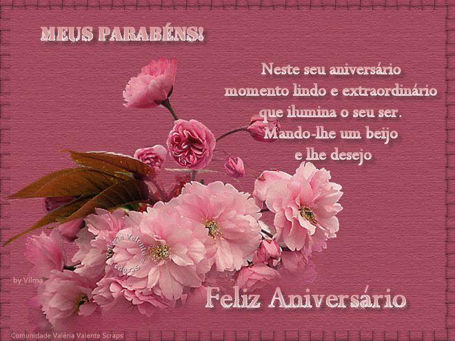 Mensagem Feliz Aniversario Para Facebook: Imagens De Feliz Aniversario Com Flores Para Face