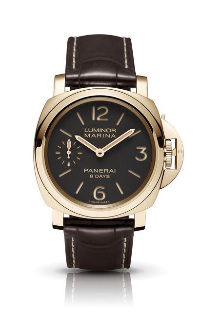 LUMINOR BASE 8 DAYS ACCIAIO PAM00560 - Collection LUMINOR - Watches Officine Panerai