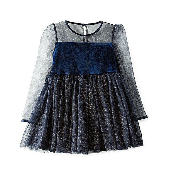 Bardot Junior Velour And Mesh Dress ($76) ❤ liked on Polyvore featuring dresses, zip back dress, bardot junior, metallic dress, blue cocktail dresses and blue mesh dress