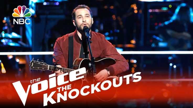 """The Voice 2015 Knockouts - Joshua Davis: """"Arms of a Woman"""""""
