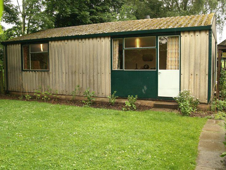 45 best 40 39 s prefabs images on pinterest 1940s prefab for Prefab backyard homes